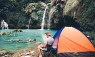 Địa điểm du lịch mới tại Mộc Châu – thác Chiềng Khoa