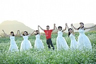 Địa Điểm Ngắm Hoa Cải Trắng Tại Mộc Châu