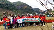 Hình Ảnh Đoàn Tour Mộc Châu Khởi Hành 30 - 31/12/2017