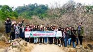 Hình Ảnh Đoàn Tour Thung Nai Mộc Châu Khởi Hành 13 - 14/1/2018