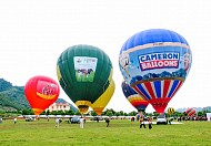 Lễ hội khinh khí cầu Mộc Châu 2018