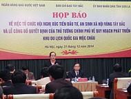 Mộc Châu Tổ Chức Hội Nghị Đầu Tư Tây Bắc
